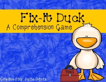 Fix It Duck Comprehension Game