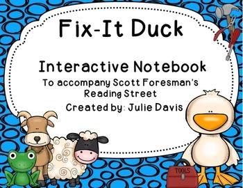 Fix-It Duck Interactive Notebook Journal