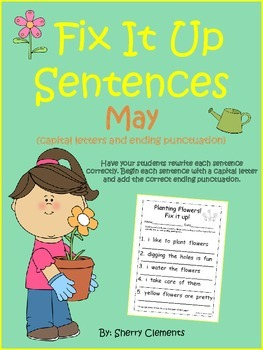 May Fix It Up Sentences