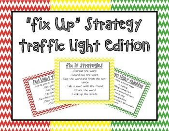 Fix Up Strategy Traffic Light