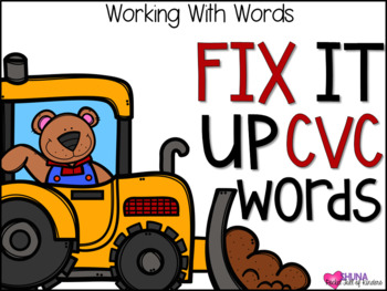 Fix it Up CVC {A Working With Words Center}
