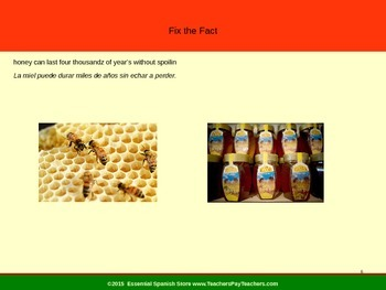 Fix the Facts: FREE Food Facts
