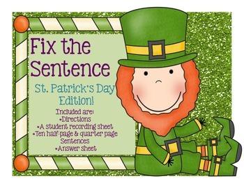 Edit Around the Room: St. Patrick's Day Leprechaun Edition