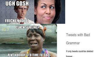 Fixing Tweets with Bad Grammar