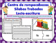 Fl Centro de Silabas Trabadas Grupos Consonanticos Station