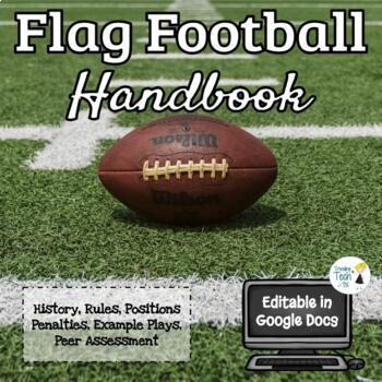 Flag Football Unit - Physical Education - Rules, Strategy,