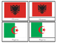 Flags of the World:  Montessori 3 Part Cards