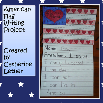Flag of Freedom Writing Project