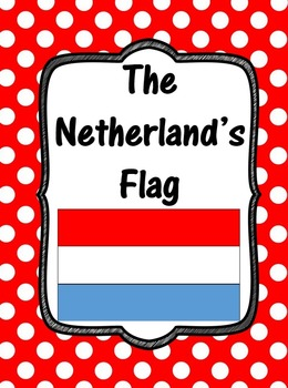 Flag of The Netherlands Clip Art