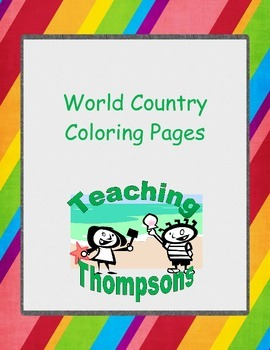 Flags of Asia, Australia, and Oceanasia coloring pages and