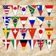 Flags of the World Banner - Printable - Includes 24 differ