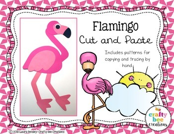 Flamingo Cut and Paste