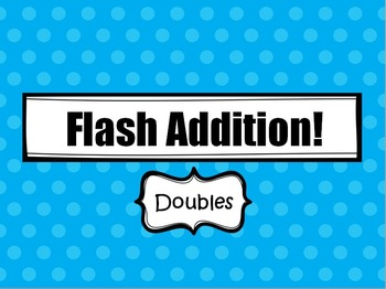 Flash Addition (Doubles)