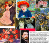 Printable Cards, 28, Impression & Post ~ Art History ~ Fla