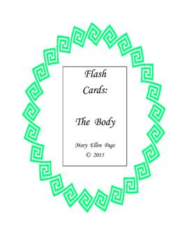 Flash Cards  Body