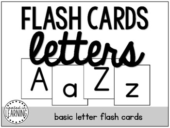 Flash Cards: Letters