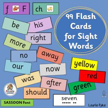 90 Sight Word Flash Cards complement programs like Jolly P