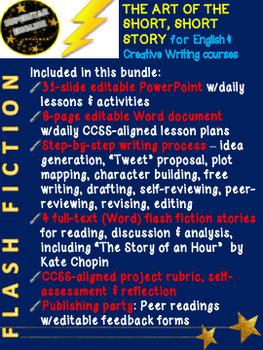 Flash Fiction: Short Short Story Writing Unit