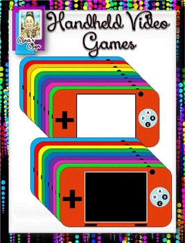 Clip Art~ Handheld Video Gamers