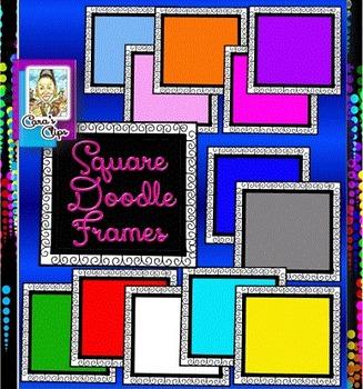 Square Doodle Frames