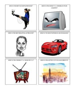 Flashcards - Comparative and Superlative