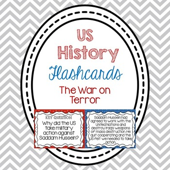 Flashcards- The War on Terror