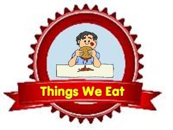 Flashcards : Things We Eat