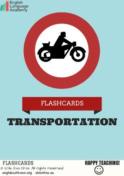 Flashcards- Trasportation
