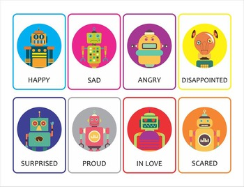 Flashcards/ cardsto teach emotions!