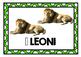 Flashcards for learners of Italian (ANIMALS / GLI ANIMALI