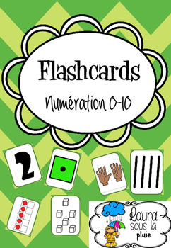 Flashcards numération 0-10