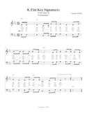 Flat Key Signatures Song, Student Edition