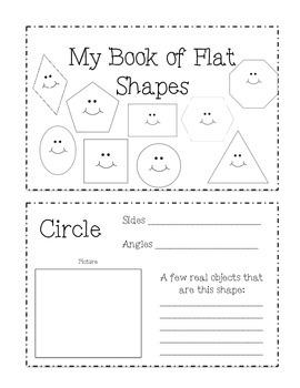 Flat Shapes Book