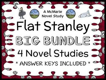 Flat Stanley Collection (Jeff Brown) 4 Novel Studies / Rea