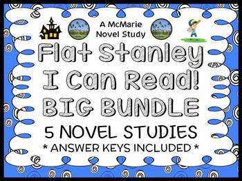 Flat Stanley (I Can Read) COLLECTION : 5 Novel Studies / C