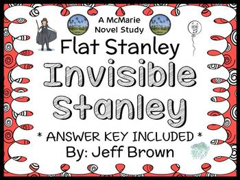 Flat Stanley: Invisible Stanley (Jeff Brown) Novel Study /