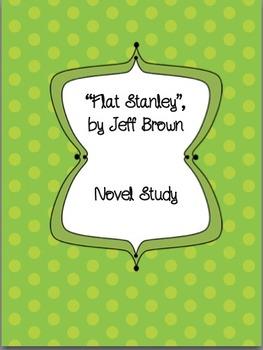 Flat Stanley Novel Study, Grade 2 Common Core