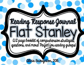 Flat Stanley Reading Response Journal