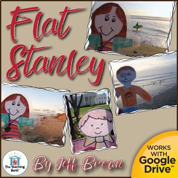 Flat Stanley Novel Study Book Unit and ELA/Math Activity Pack