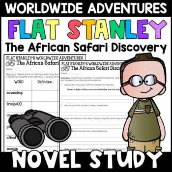 Flat Stanley: The African Safari Discovery Novel Study