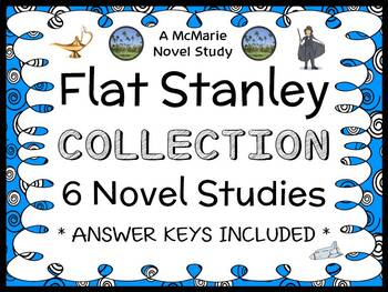 Flat Stanley Ultimate Collection (Jeff Brown) 6 Novel Stud