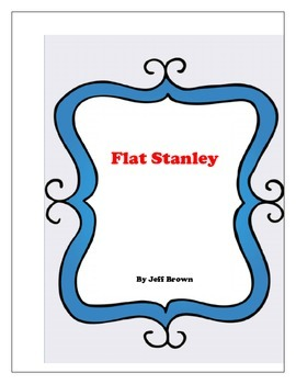 Flat Stanley by Jeff Brown Literature Log