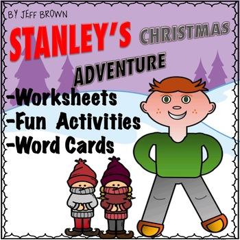 Flat Stanley's Christmas Adventure Novel Study No Prep