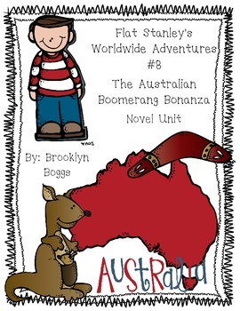 Flat Stanley's Worldwide Adventures #8: The Australian Boo