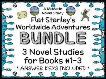 Flat Stanley's Worldwide Adventures BUNDLE (Jeff Brown) Bo
