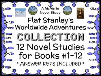 Flat Stanley's Worldwide Adventures COLLECTION : ALL 12 No