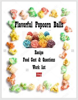 Flavorful Popcorn Balls
