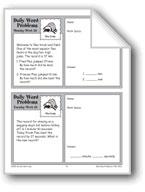 Flea Feats (Grade 3 Daily Word Problems-Week 26)