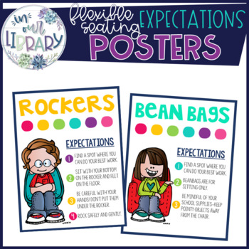 Flexible Seating Expectation Chart