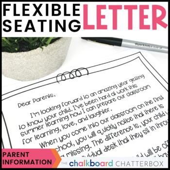 Flexible Seating -Parent Information Letter-